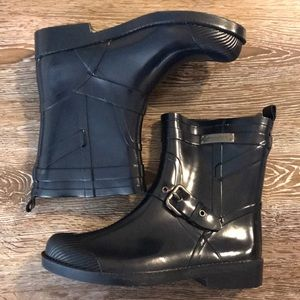 Coach new  York rain boots. Size 6B